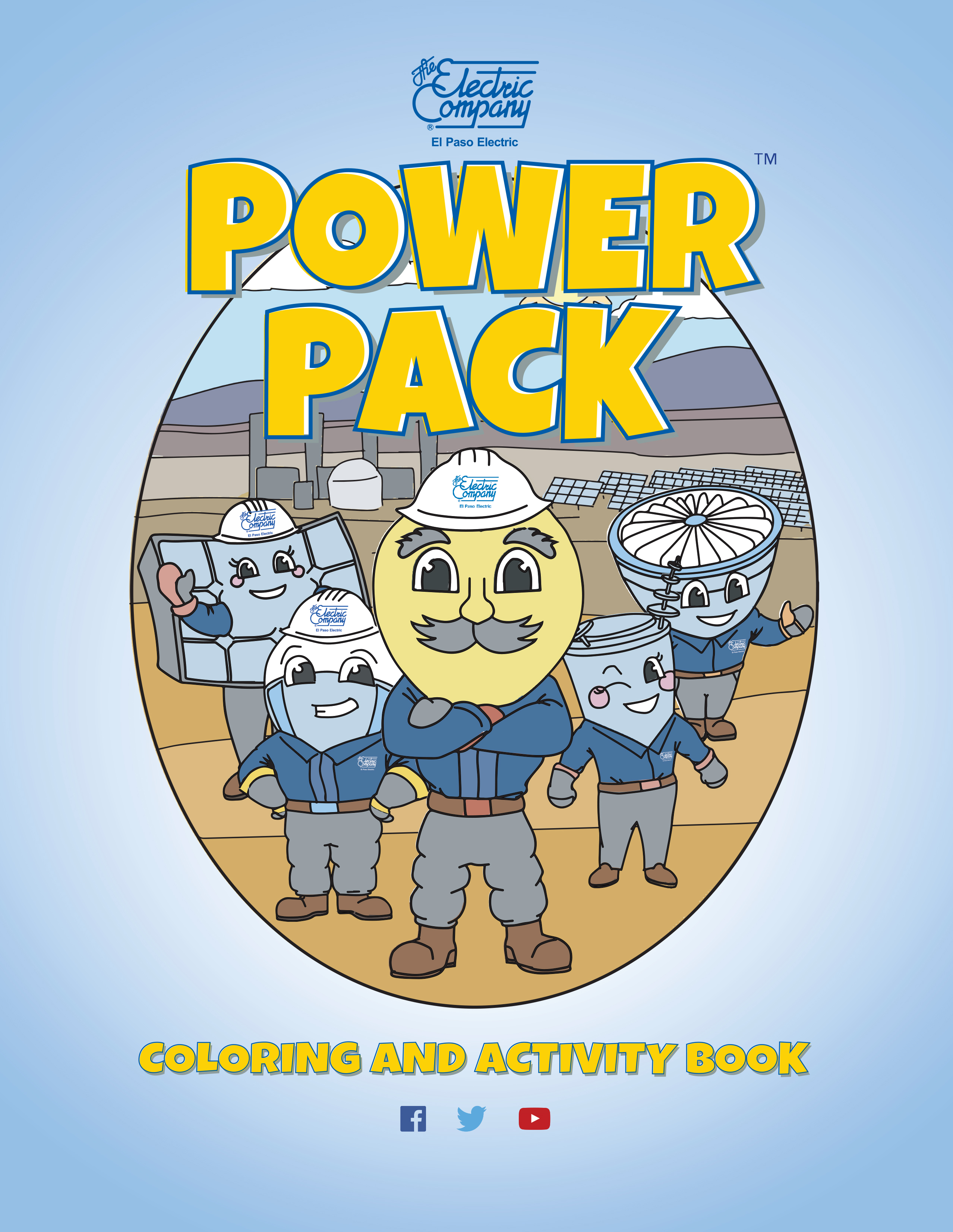 Power Pack Activity Book