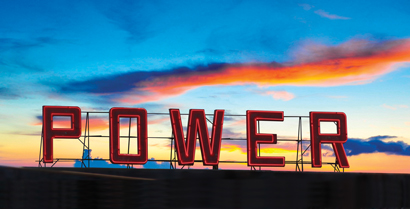 El Paso Electric's Power Station Sign