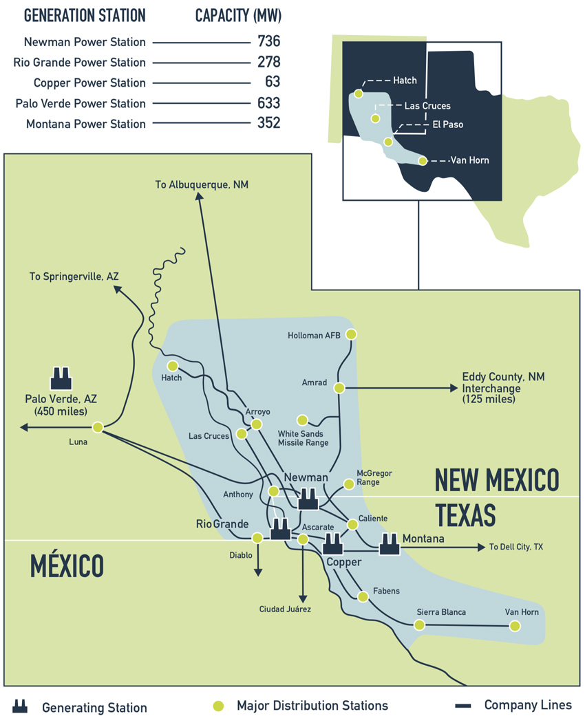 Electricity for West Texas and Southern New Mexico | El Paso ...