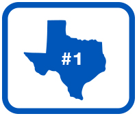 Number #1 in Texas