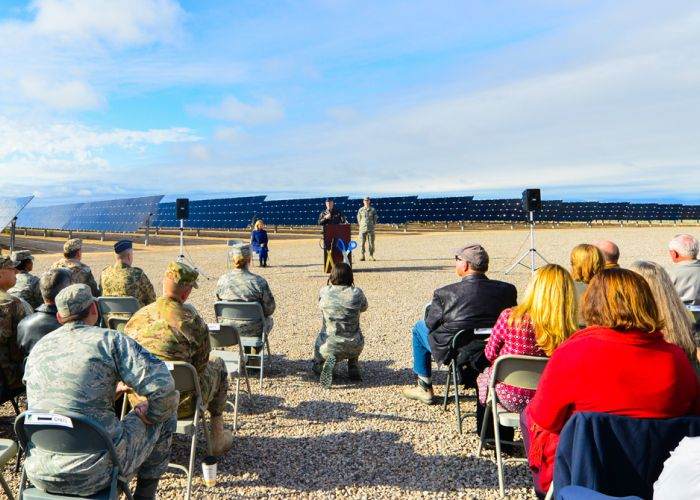 U.S. Air Force joins El Paso Electric to Launch New Solar Facility at Holloman