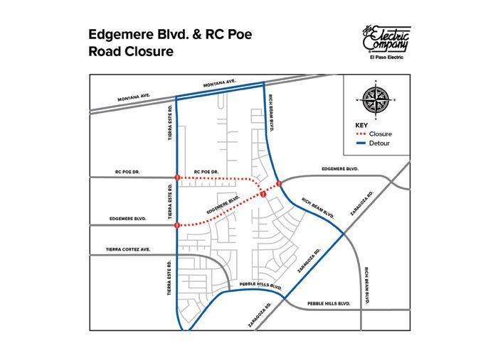 Road Closure: EPE to Conduct Work Along Edgemere Boulevard