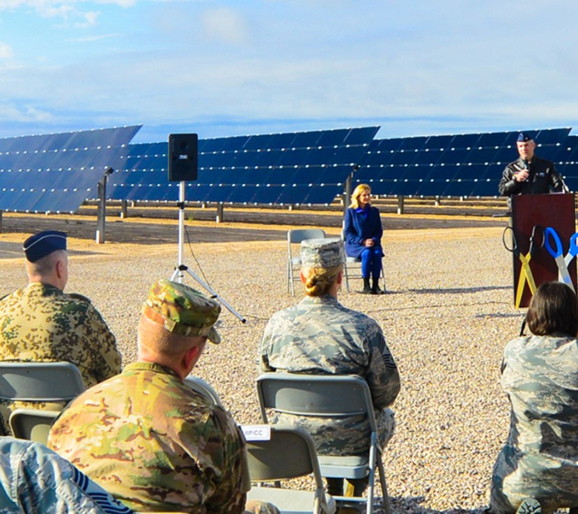 Holloman Air Force Base Atlas Solar Array